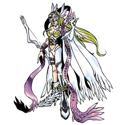 エンジェウーモン テイルモンが進化した完全体デジモン、必殺技はホーリーアロー[感想を書く]...